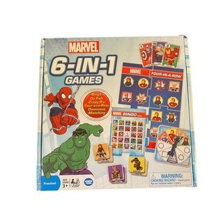 Marvel 6-in-1 Games by Wonder Forge